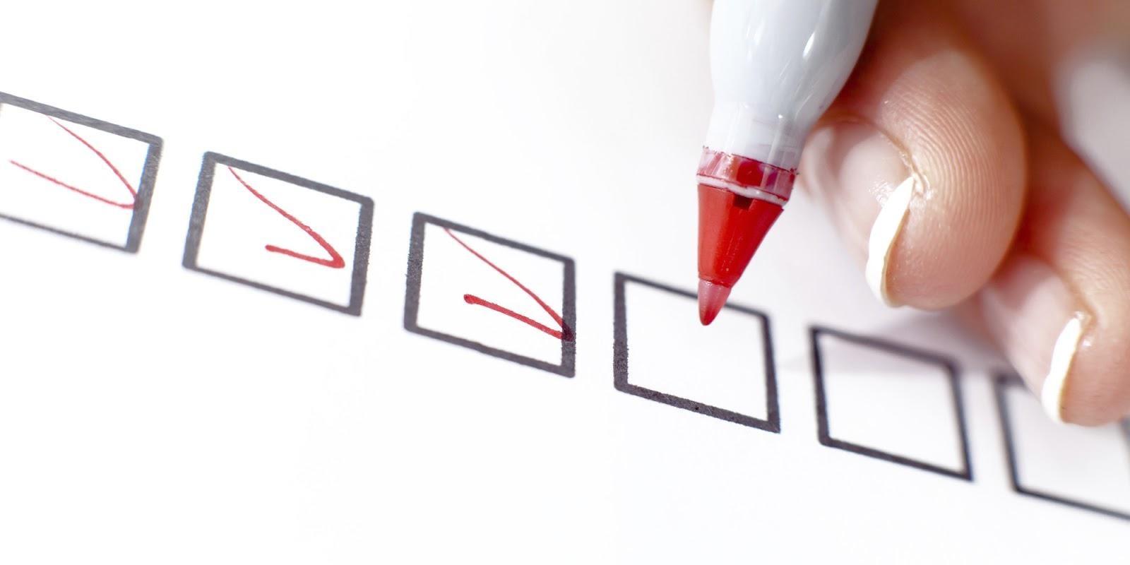 Manter uma lista de tarefas e cumprir metas é o primeiro passo para uma rotina mais saudável.